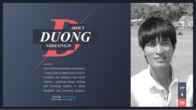 [DevDay2019] Spacing and Typography, keys to a professional UI design - By Nguyen Huu Duong, Full-stack Developer at Axon Active Vietnam